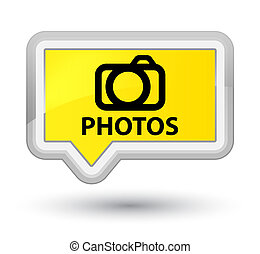 Photos (camera icon) prime yellow banner button