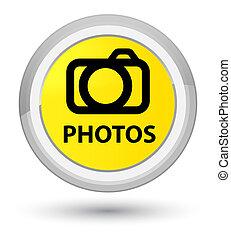 Photos (camera icon) prime yellow round button