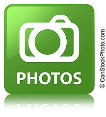 Photos (camera icon) soft green square button