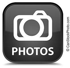 Photos (camera icon) special black square button