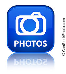 Photos (camera icon) special blue square button