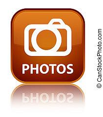 Photos (camera icon) special brown square button