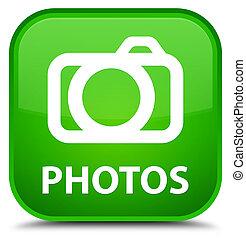 Photos (camera icon) special green square button