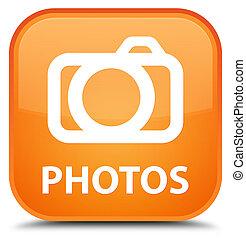 Photos (camera icon) special orange square button