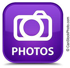 Photos (camera icon) special purple square button