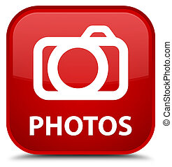 Photos (camera icon) special red square button