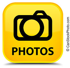Photos (camera icon) special yellow square button