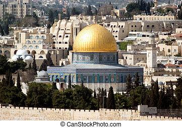 photos, israël, jérusalem, -, voyage
