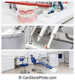 Photos of a dentist's office
