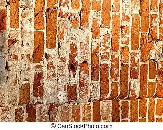 Photos of bright brick wall