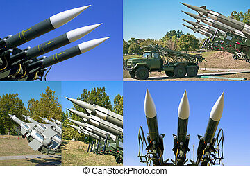 photos of combat rocket missiles