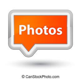 Photos prime orange banner button