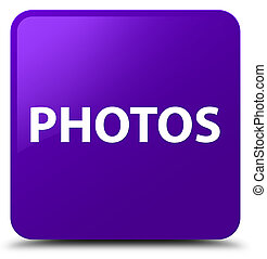 Photos purple square button