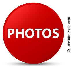Photos red round button