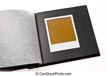 photos - Localized blank photo in a photo album