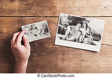 photos, table