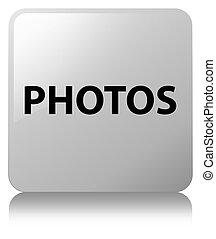 Photos white square button