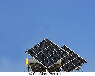 photovoltaïque, panneaux, panneau solaire