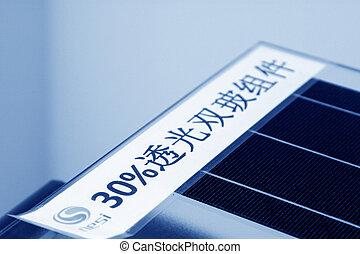 photovoltaïque, panneaux, solaire