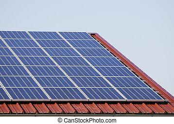 Alternative energy generation with photovoltaic