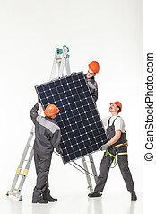 photovoltaic, energia, instalar, solar, alternativa, painéis