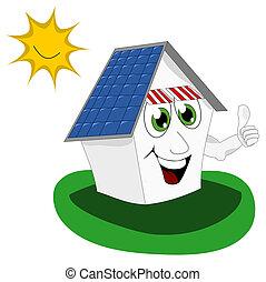 Photovoltaic - Alternative energy vector illustration