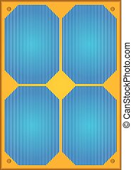 Photovoltaic or Solar panel.