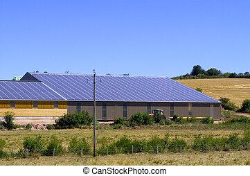 photovoltaic, planta, potencia