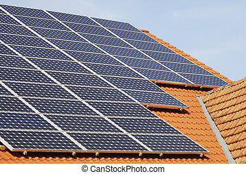 Photovoltaic Roof - Photovoltaic - Electricity generation...