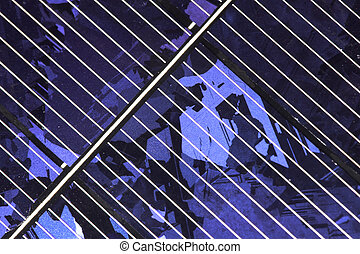 Photovoltaic solar cell - Photovoltaic solar cell