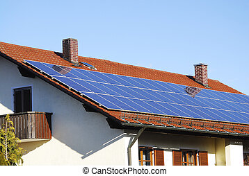 Photovoltaics - Photovoltaic - Electricity generation with...