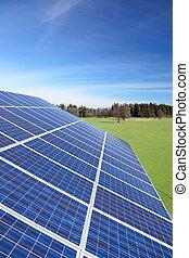 photovoltaik, algum, celas