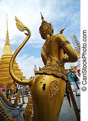 phra, -, 歩きなさい, 青, kaew), 空, 仏, ワット, 観光客, 6月, バンコク, 30, エメラルド, バンコク, 前方へ, 未確認, :, 30, 寺院, 2007, (wat, kaew