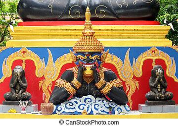 Phra Rahu and Phra Pidta