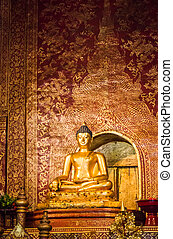 """Phra Sihing Buddha"" in Chiang Mai, Thailand"