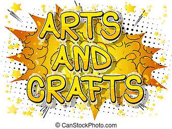 phrase., -, vecteur, arts, comique, style, métiers, livre ...