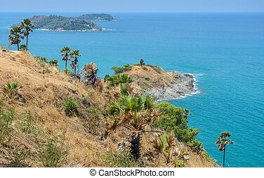 Phromthep cape viewpoint in Phuket,Thailand - Phromthep cape...