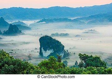 Phu Lanka , Phayao , thailand