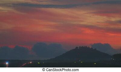 Phuket airport, early morning - Phuket International airport...