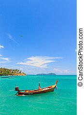 phuket, bateau, thaïlande