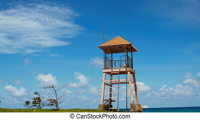 Phuket Beach Rescue Tower