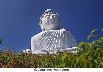 Phuket Buddha Blue - An image of the big buddha in Phuket ...
