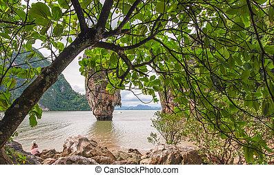 Phuket James Bond island Phang Nga.