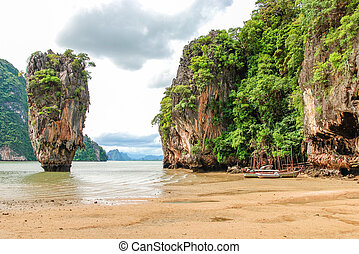 Phuket James Bond island Phang Nga, Thailand