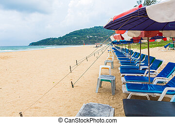 PHUKET - JUNE 7 : Tourists spend their holiday on JUNE 7,...