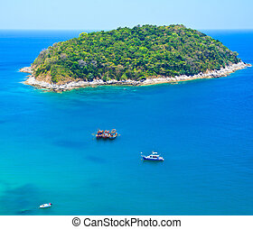 phuket, méridional, thaïlande, île