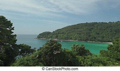 Phuket nature establishing shot, Thailand
