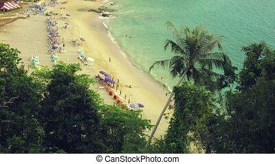 phuket, paysage, island., plage, thaïlande, exotique