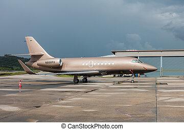 Phuket Thailand - Oct 16, 2016: 1994 Dassault Aviation...
