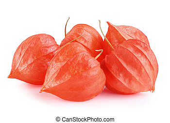 Physalis fruit Gooseberry - Close up of cape Gooseberry or...